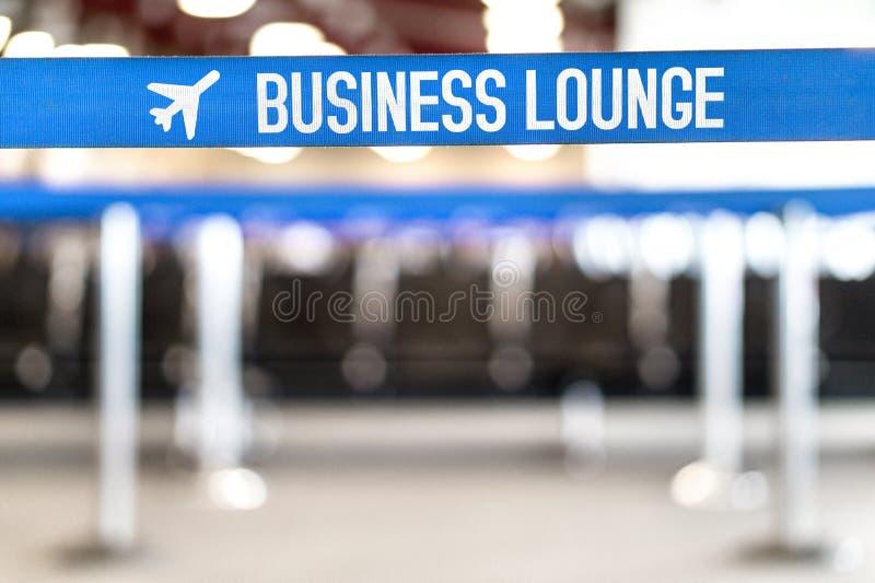 Biznesowy hol przy lotniskiem Vip czekania teren przy terminal obraz royalty free