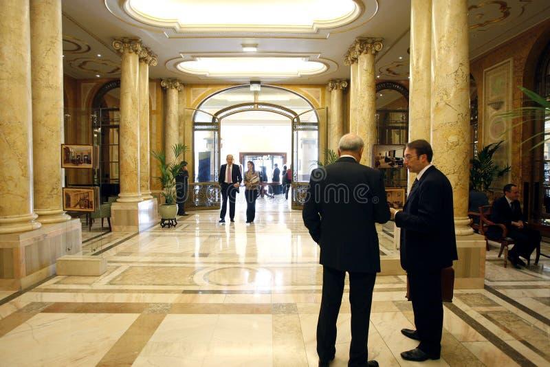 Biznesowy hotel obrazy royalty free
