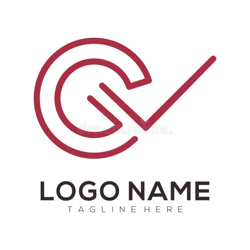 Biznesowy i ordynacyjny projekt logo i ikony ilustracja wektor