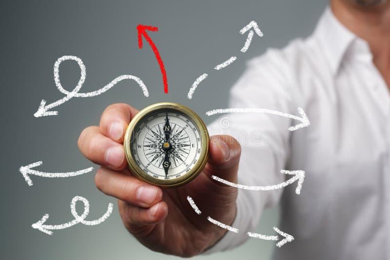 biznesowy kierunku spaceru sposób obraz stock