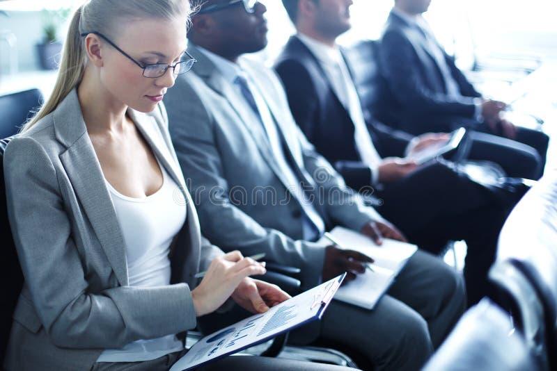 Biznesowy konwersatorium zdjęcie royalty free
