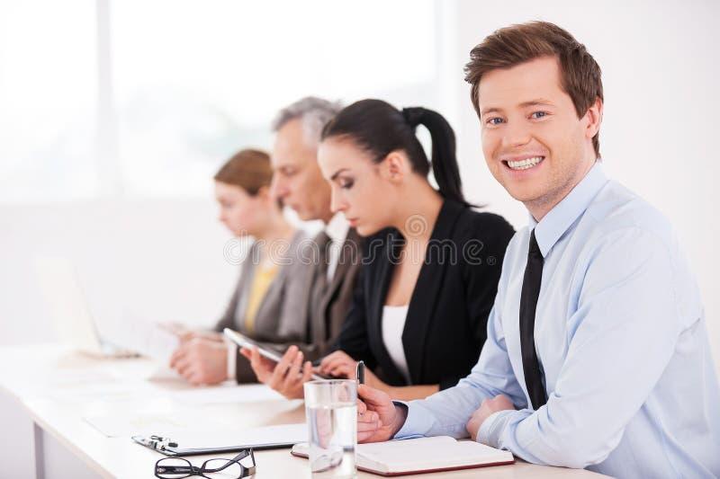 Biznesowy konwersatorium. obraz stock