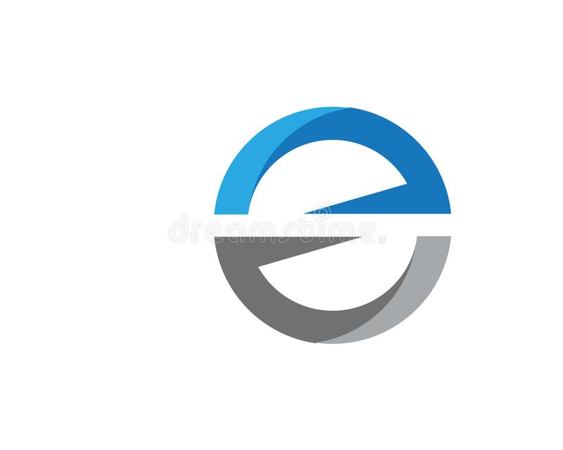 Biznesowy korporacyjny S listu loga projekta wektor ilustracja wektor