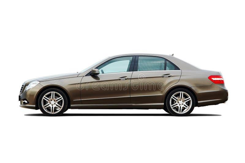 biznesowy luksusowy nowożytny sedan obrazy royalty free