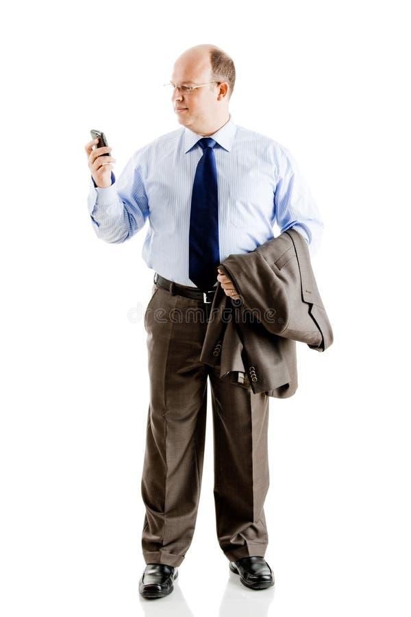 Download Biznesowy mężczyzna zdjęcie stock. Obraz złożonej z wezwanie - 13342876