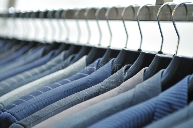 Biznesowy mężczyzna mody sklep fotografia stock