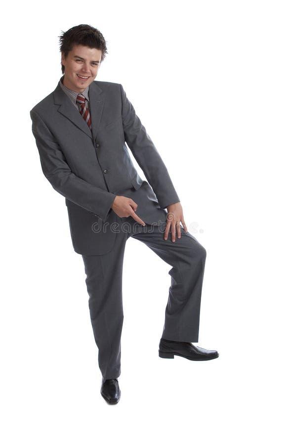 Biznesowy mężczyzna (serie) zdjęcia stock