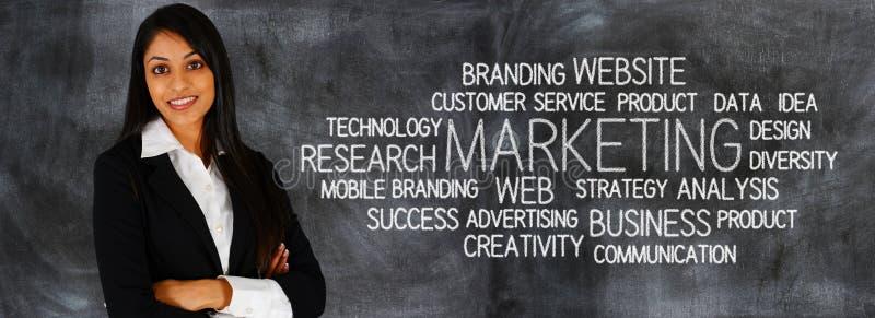 Biznesowy marketing obrazy royalty free