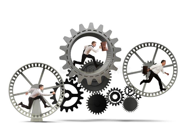 Biznesowy mechanizmu system royalty ilustracja