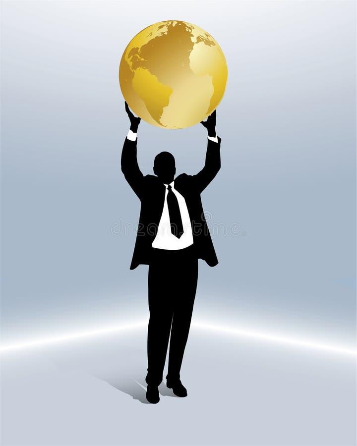 biznesowy międzynarodowy związek ilustracja wektor