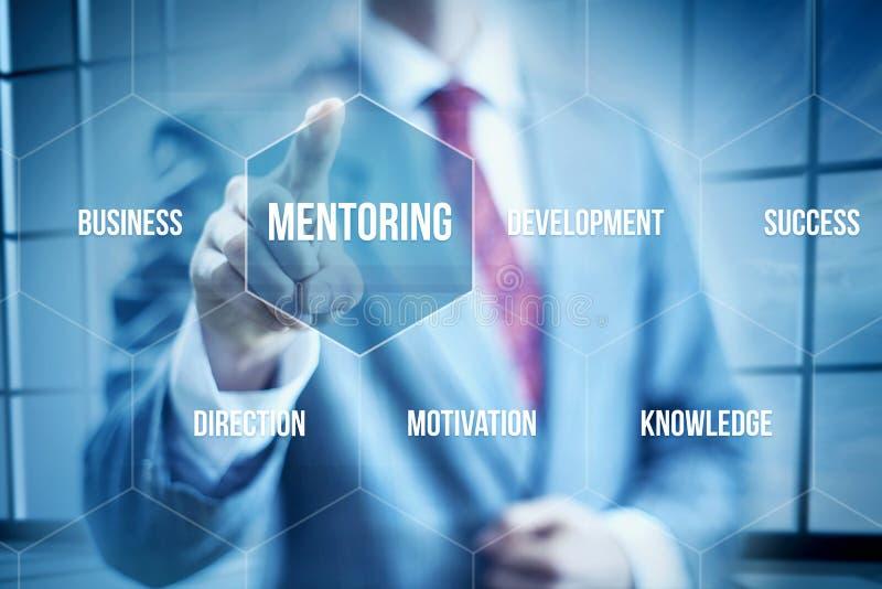 Biznesowy obowiązki mentora zdjęcie stock
