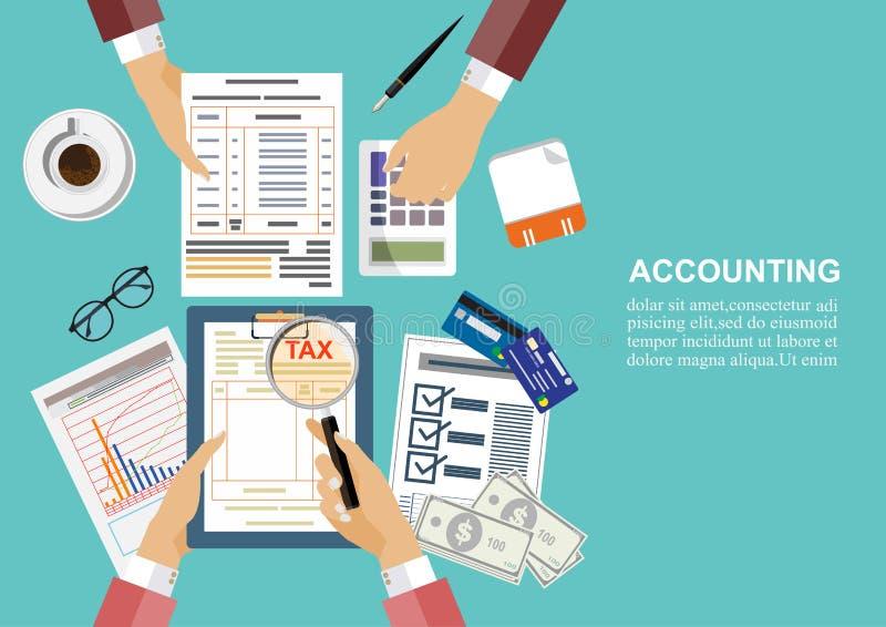 Biznesowy pojęcie dla finanse również zwrócić corel ilustracji wektora zdjęcie royalty free