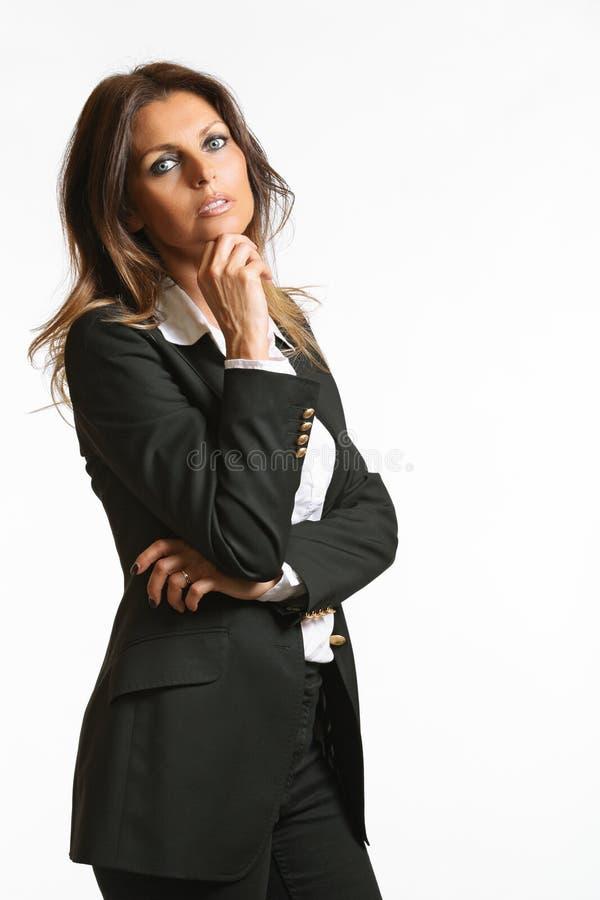 Biznesowy portret piękna kobieta obrazy royalty free