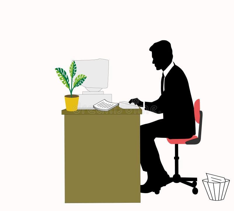 biznesowy pracownik obrazy stock