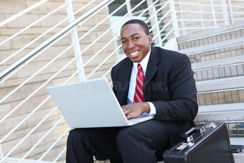 biznesowy przystojny mężczyzna fotografia royalty free