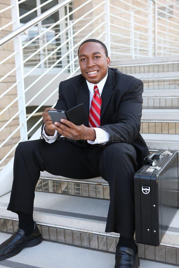 biznesowy przystojny mężczyzna fotografia stock