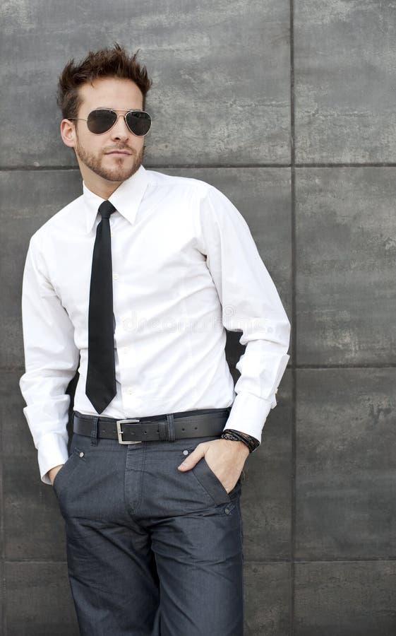 biznesowy przystojny mężczyzna obrazy stock