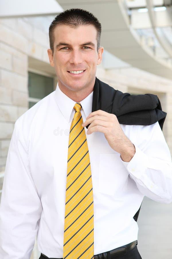 biznesowy przystojny mężczyzna obraz stock