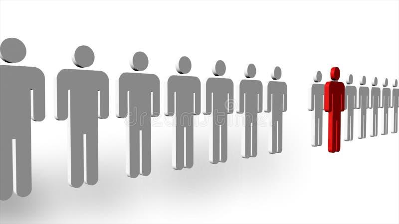 biznesowy przywódctwo ilustracja wektor
