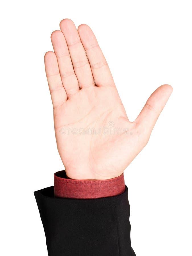 biznesowy ręki mężczyzna dźwiganie obrazy stock