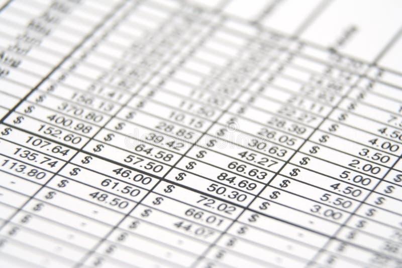 Biznesowy Raport Obrazy Stock