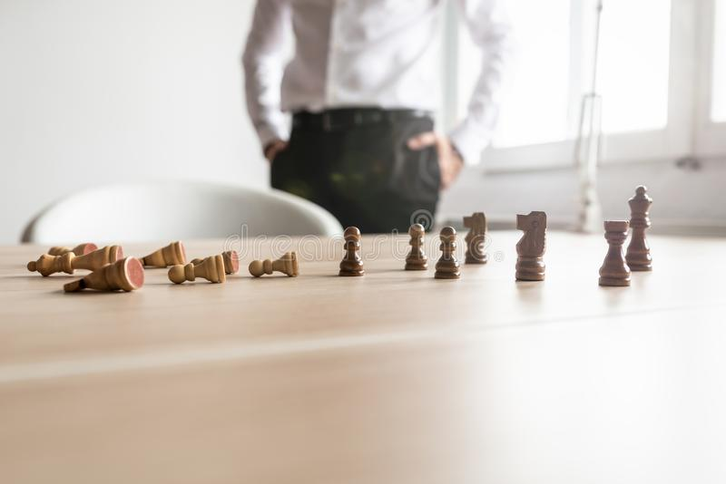 Biznesowy rywalizaci pojęcie zdjęcie royalty free