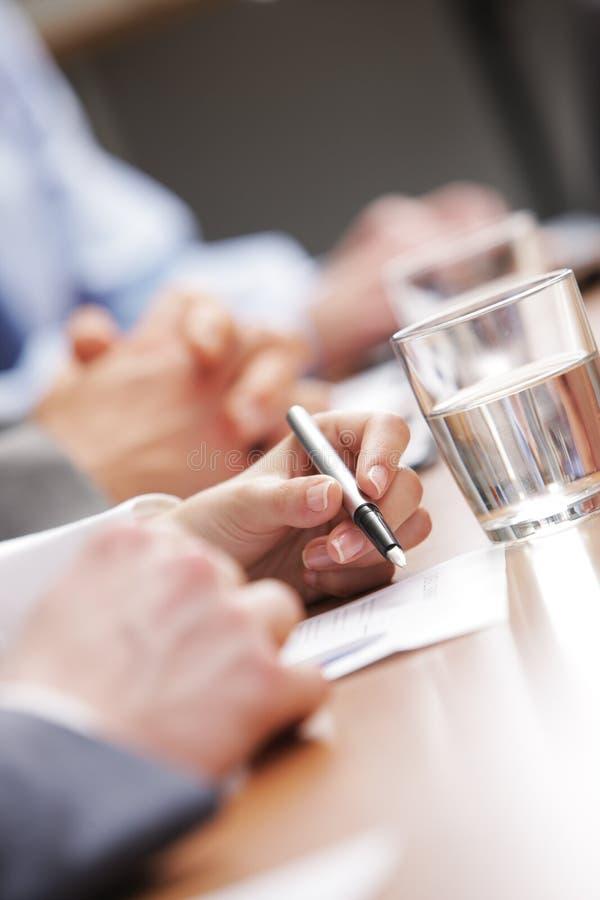 Biznesowy spotkanie zdjęcie stock