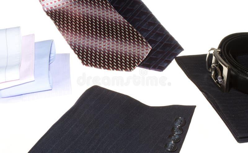 biznesowy szczegółów mężczyzna kostium obraz royalty free