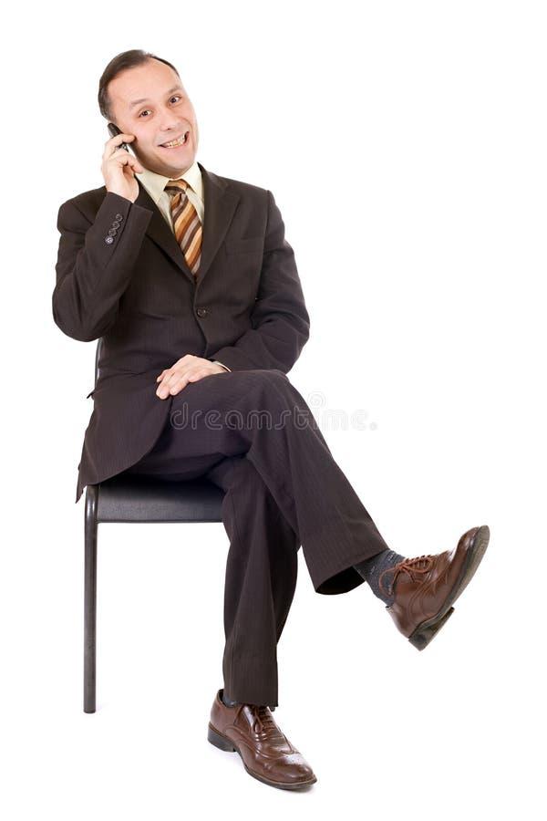 biznesowy telefonowanie obraz royalty free