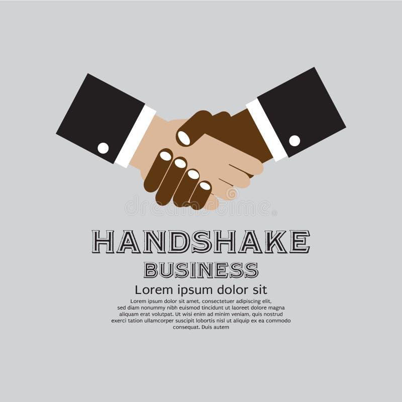 Biznesowy uścisk dłoni. ilustracja wektor
