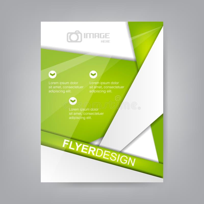 Biznesowy ulotka szablon, projekt, korporacyjny sztandaru, broszurki lub pokrywy, ilustracji