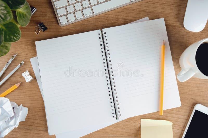 Biznesowy workspace pojęcie zdjęcia royalty free