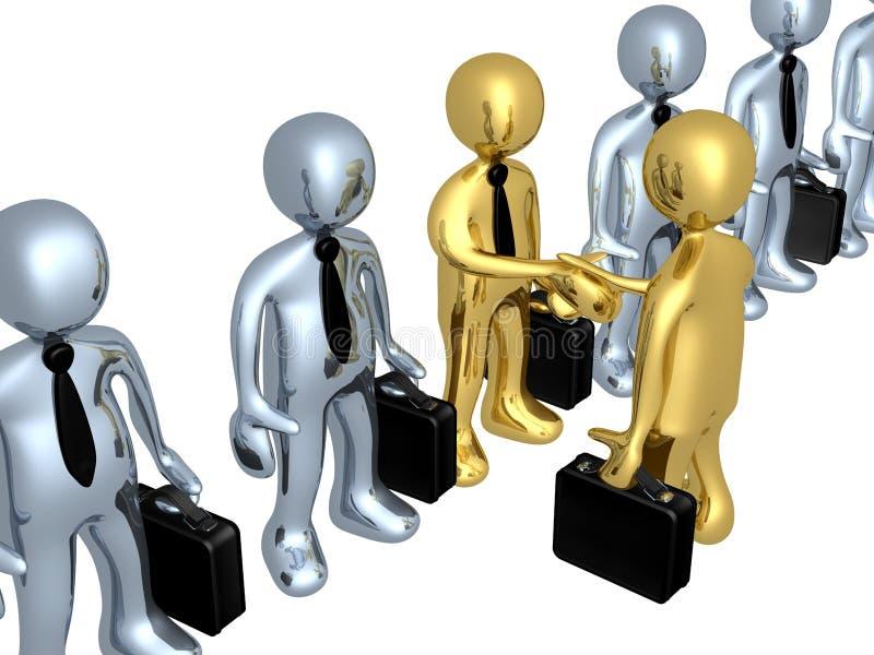 biznesowy wybór ilustracja wektor