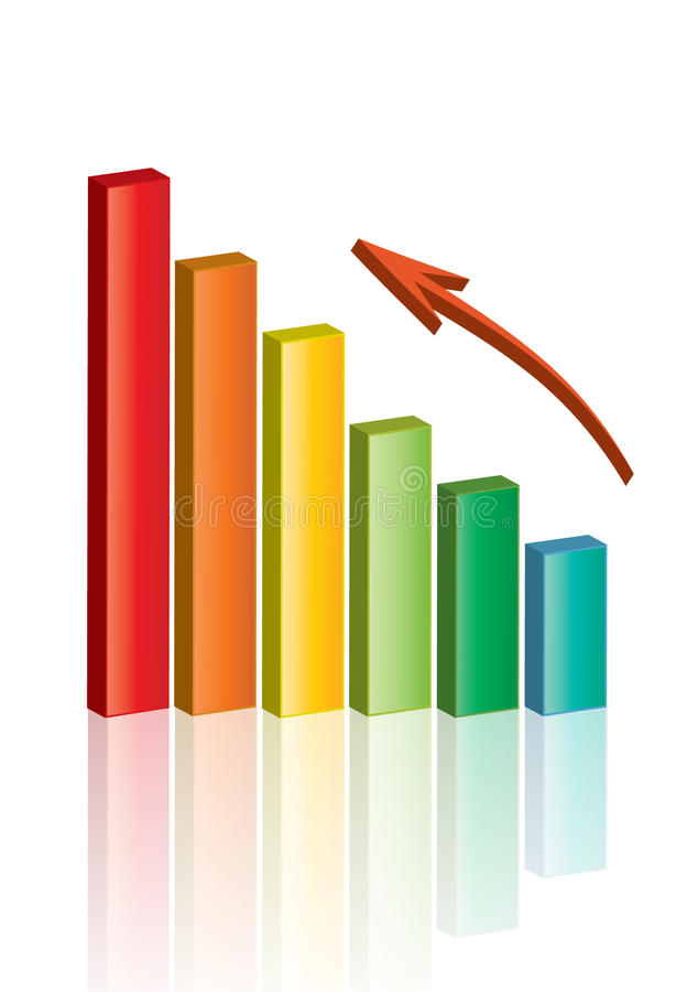 biznesowy wykres obrazy stock