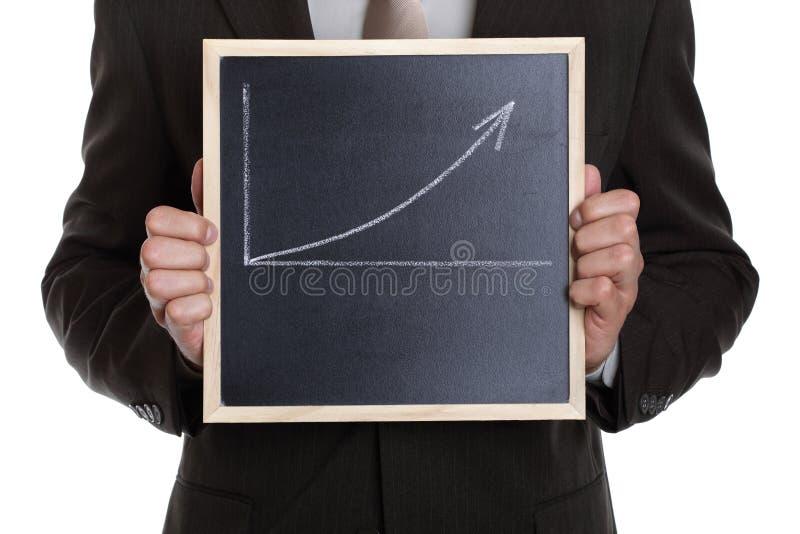 biznesowy wykres obraz royalty free