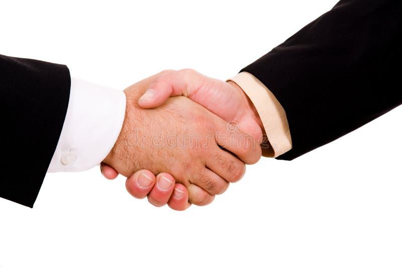 Biznesowych mężczyzna ręki potrząśnięcie obrazy stock
