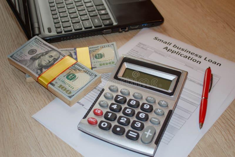 Biznesowych pożyczek filii programy Biznesowych pożyczek stopy procentowe zdjęcia royalty free