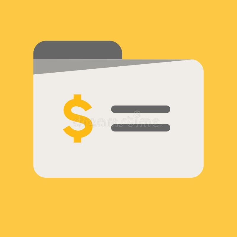 Biznesu, bankowość i finanse ikona, płatnicza bezpiecznie ochrona, karty kredytowej płaska wektorowa ilustracja ilustracja wektor