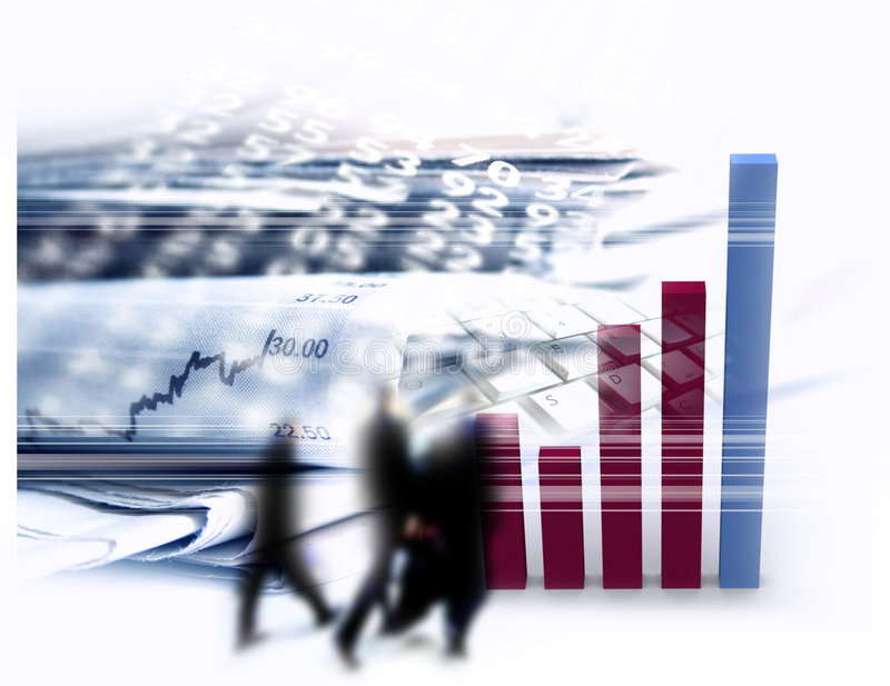 biznesu finanse ilustracji