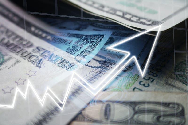 Biznesu & finanse pojęcie Wzrastać zyski Wysokiej Jakości zdjęcie royalty free