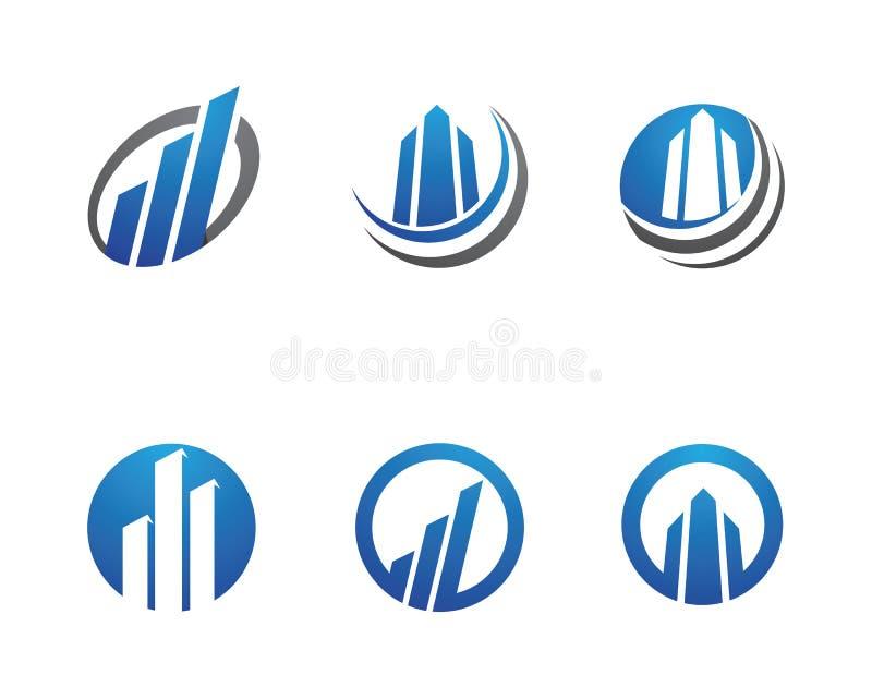 Biznesu Finansowy logo royalty ilustracja