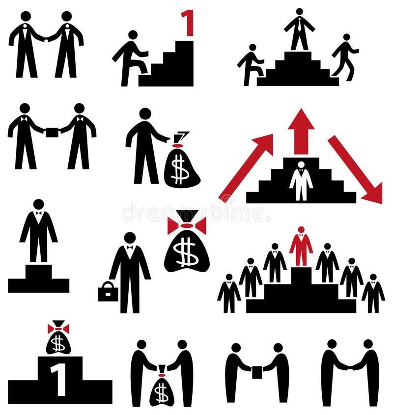 Biznesu i kariery symbol royalty ilustracja