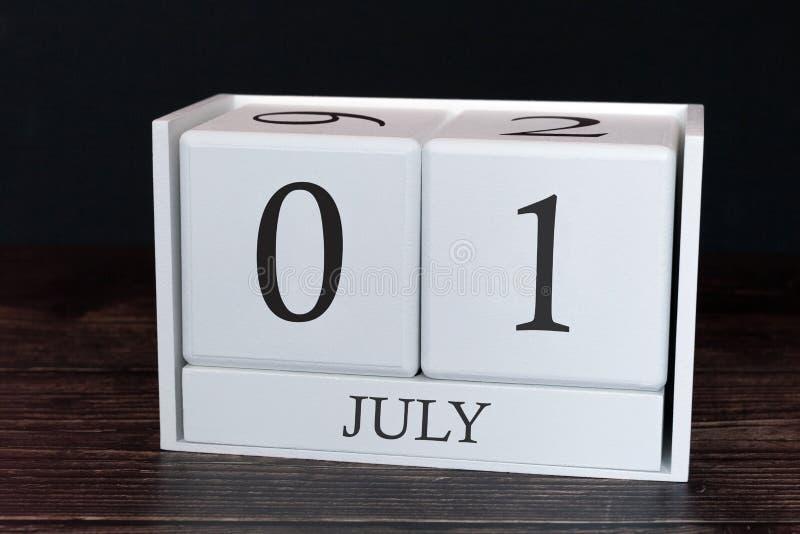 Biznesu kalendarz dla Lipa, 1st dzień miesiąc Planisty organizatora data lub wydarzenie rozk?adu poj?cie fotografia royalty free