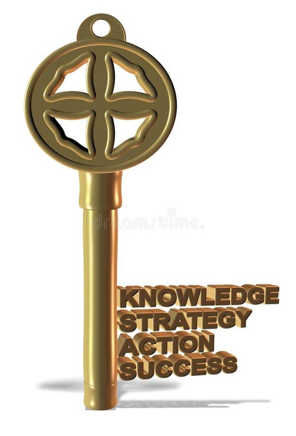 Biznesu klucz ilustracji
