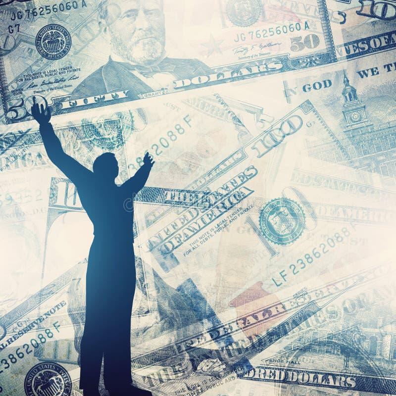 biznesu map pojęcia finanse graficzny ręki mienie na ołówku umieszczającym biznesmen sukces fotografia royalty free