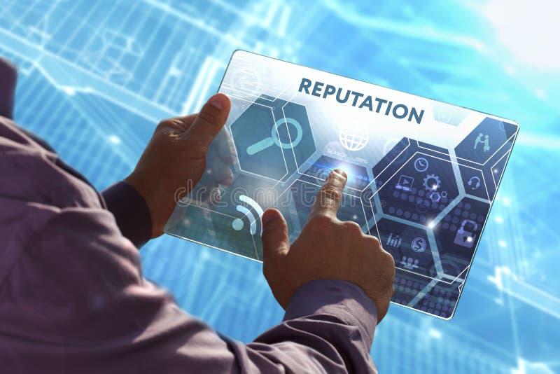 Biznesu, technologii, interneta i sieci pojęcie, Młody busi zdjęcie stock