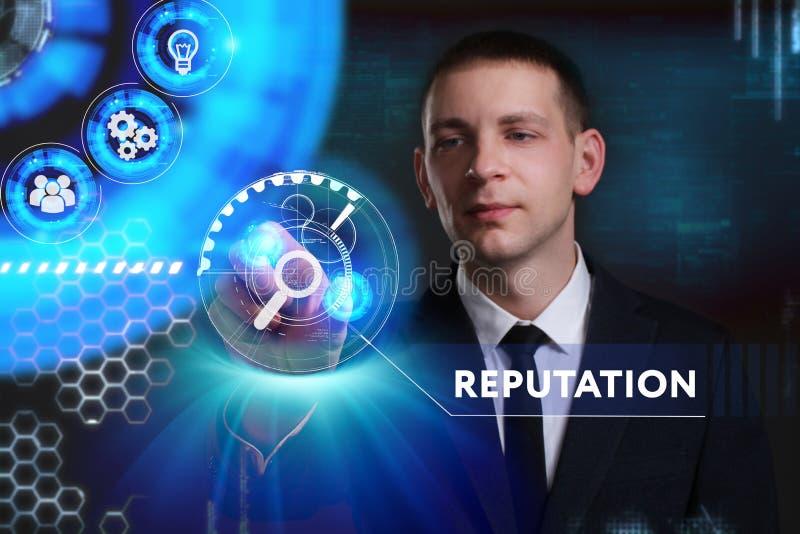 Biznesu, technologii, interneta i sieci pojęcie, Młody busine zdjęcie royalty free