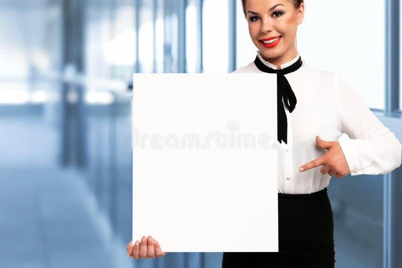 Biznesu znaka deski mockup obraz stock