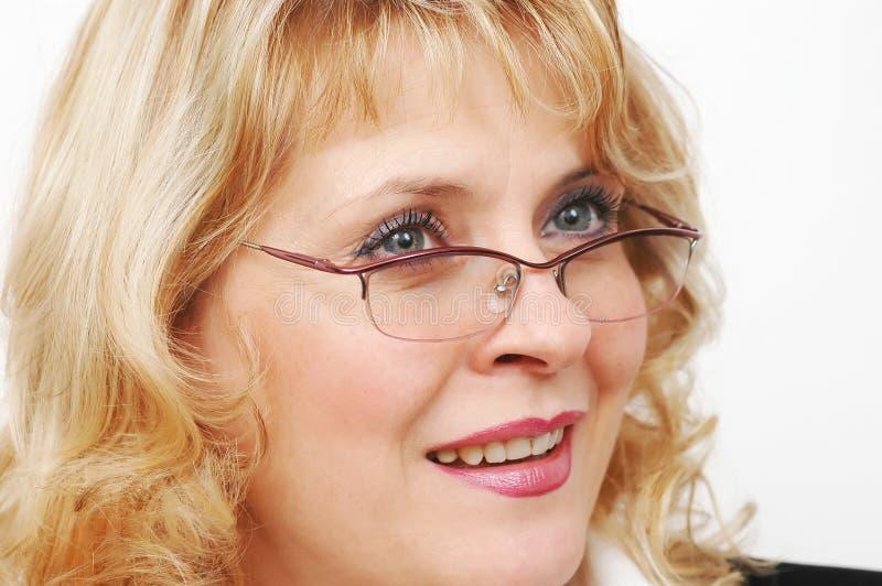 bizneswomanów okulary obrazy royalty free