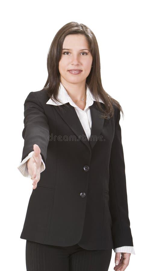 bizneswomanów potomstwa fotografia stock